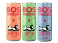 Bos unsweetened sparkling iced teas