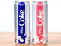 Blueberry acai and strawberry guava Diet Coke