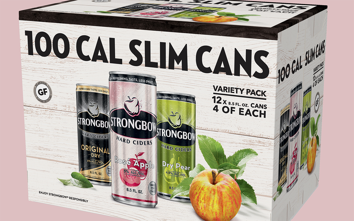 Strongbow Slim Cans