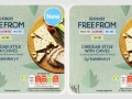 Sainsburys free-from cheese