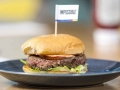 Impossible Foods meat and gluten free burger
