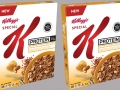 Special-K honey almond cereal with protein