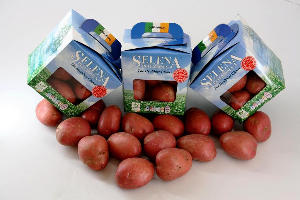 Selenium-enriched potatoes from Peter Keogh