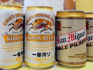 Coca-Cola says no, so Kirin opts for beer