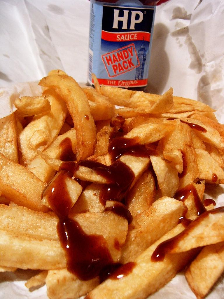 Police red-faced over brown sauce 'biohazard'