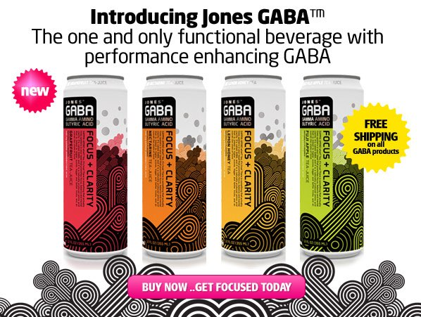 Jones Soda launches tea juice with Gaba