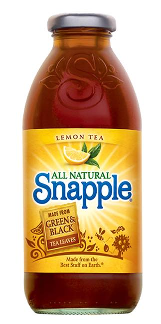 Snapple gets a makeover