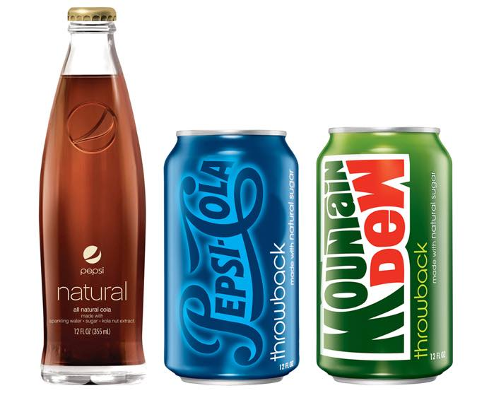 Pepsi introduces drinks with natural sugar