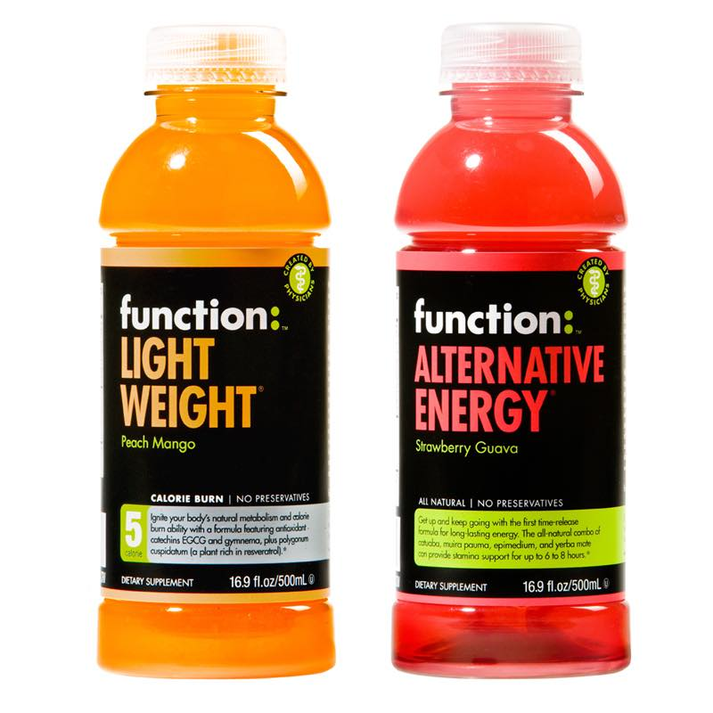 Two new flavours for Function Drinks range