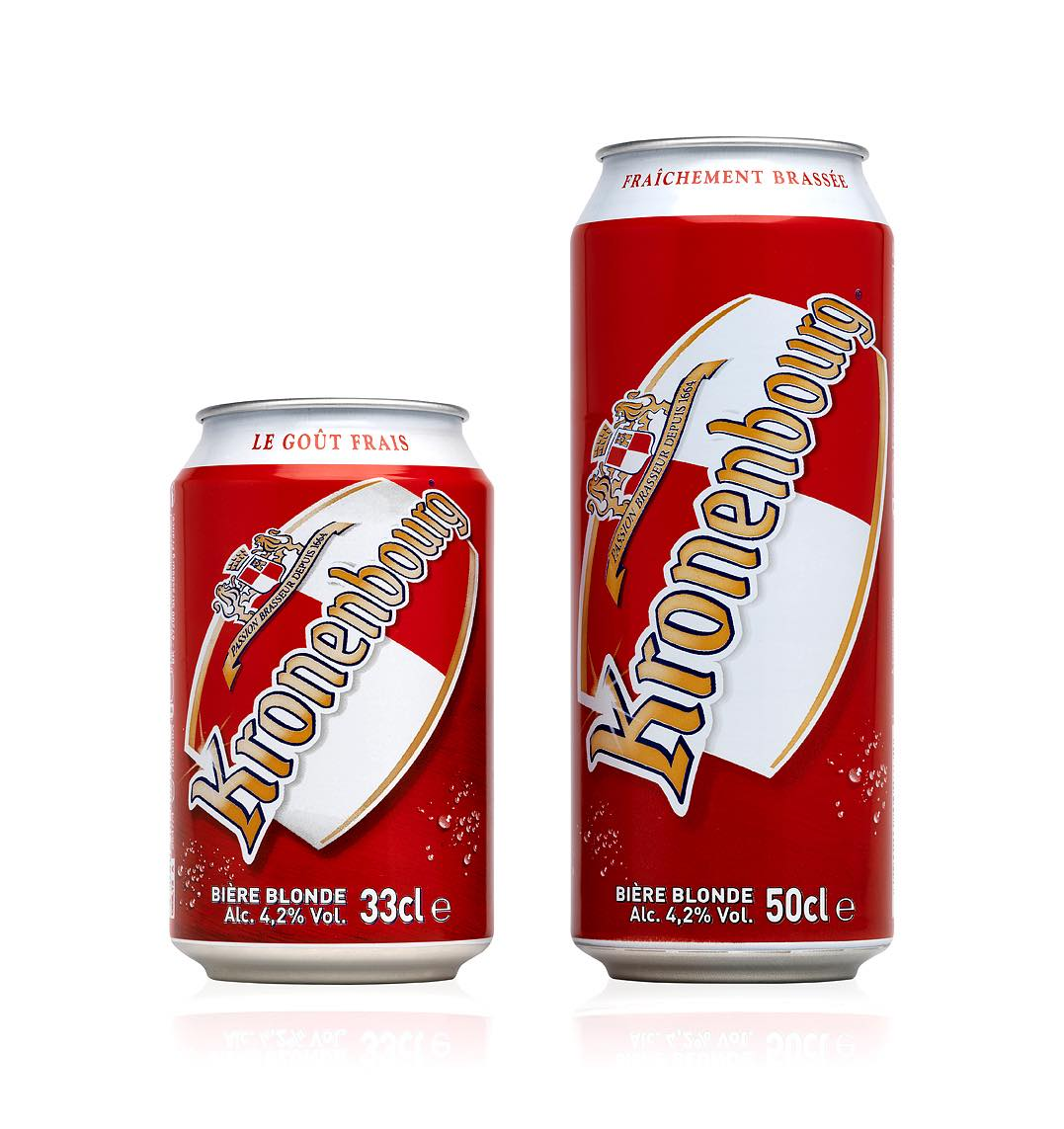 Fresh look for Kronenbourg brand thanks to Crown Bevcan