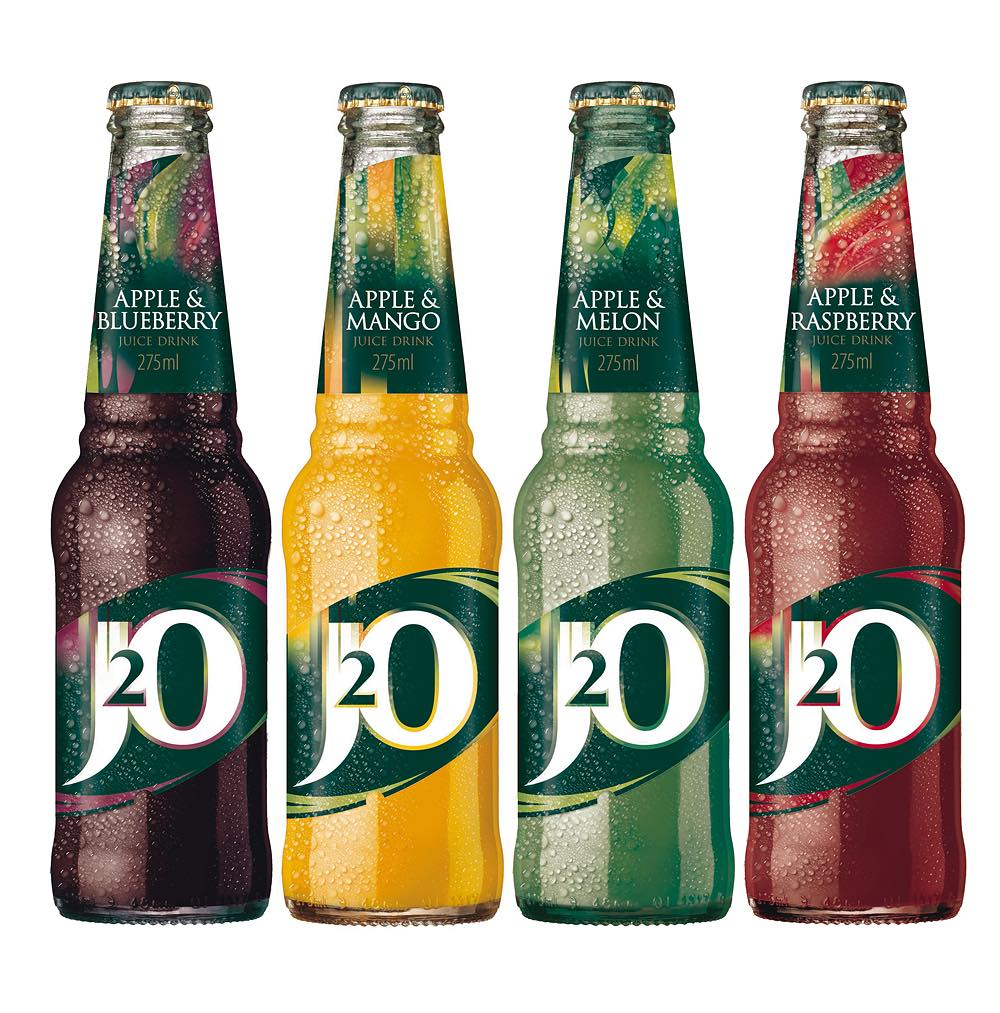 Britvic launches new-look J2O
