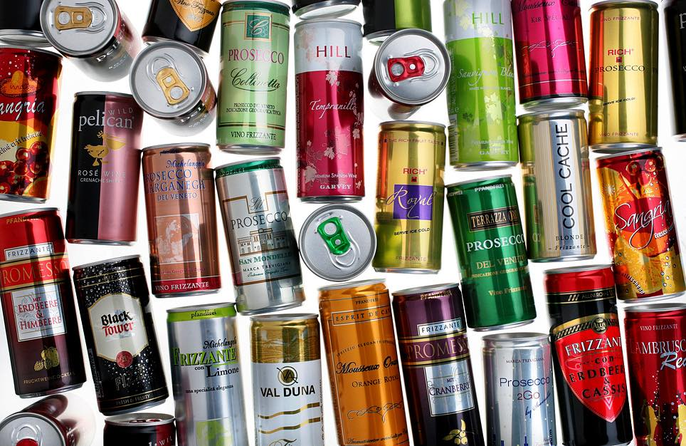 Independent studies show that wine in cans has environmental benefits