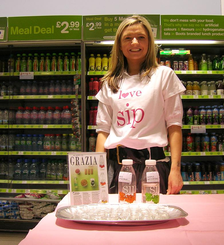 Powergirls to boost sales of Sip water in Boots