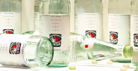 Italy's Lurisia unveils new bottle for British diners