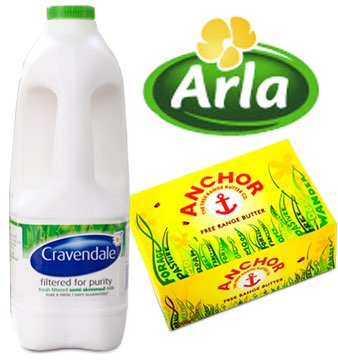 Arla Foods postpones revamp for Cravendale and Anchor in UK