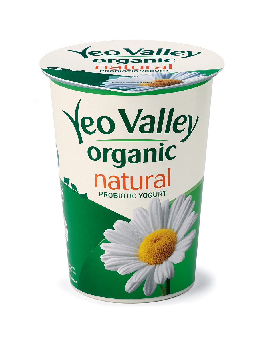Yeo Valley Organic reduces its packaging
