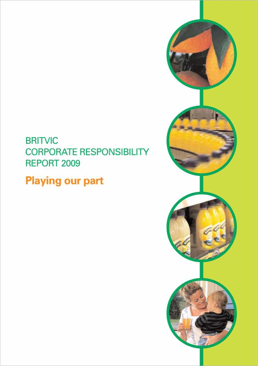 Britvic's packaging material savings revealed in 2009 CSR report