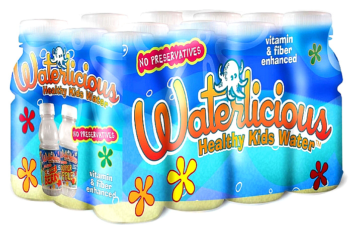 Kids are targets for fibre- and vitamin-enhanced water in US