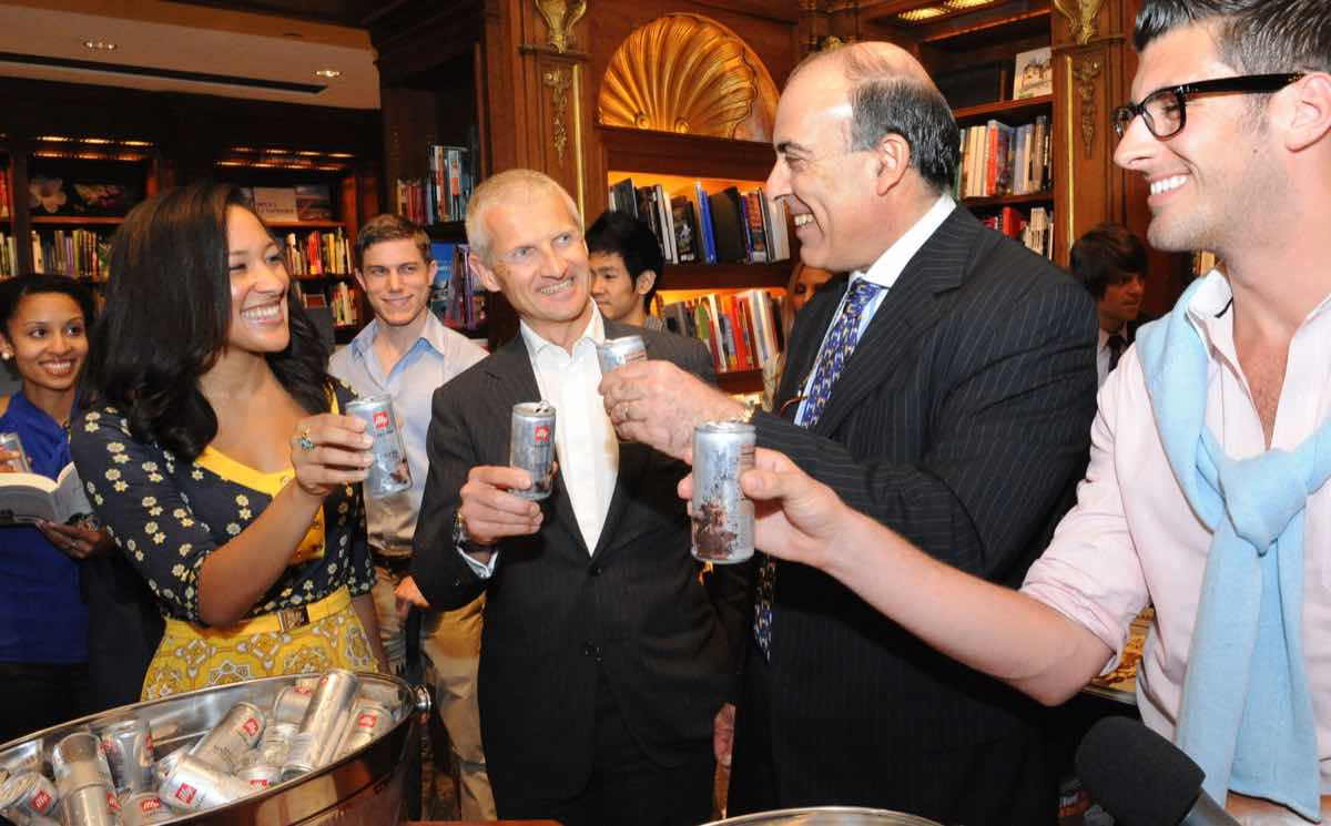 Muhtar Kent and Andrea Illy at US illy issimo launch