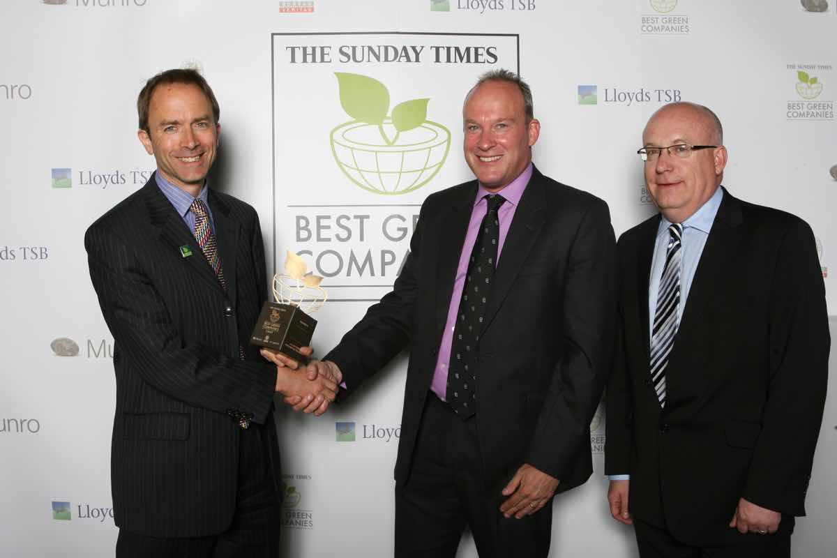 Greencare H2O ranked as one of Britain's greenest businesses