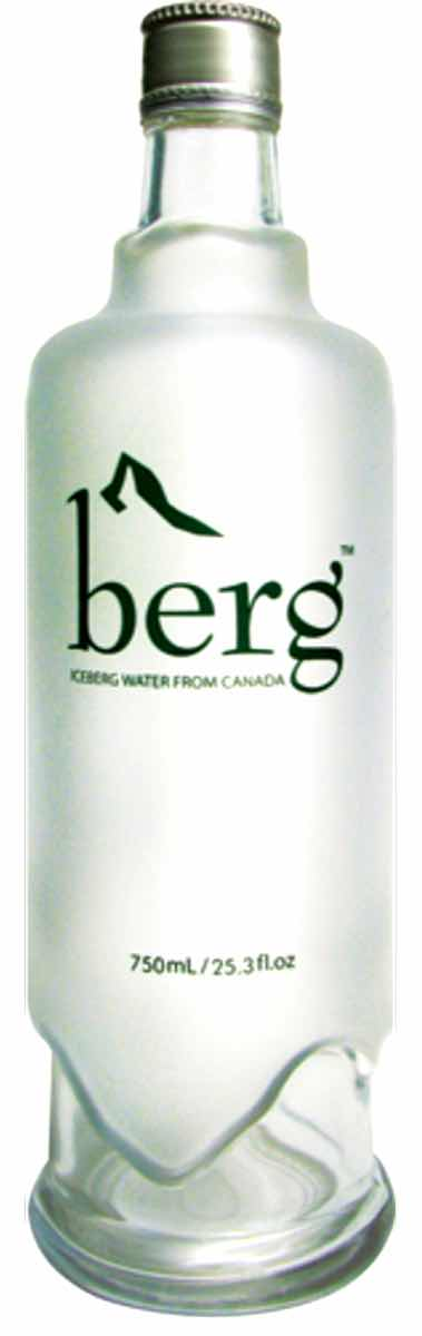 Canada's Berg Water launches glass bottle for on-trade
