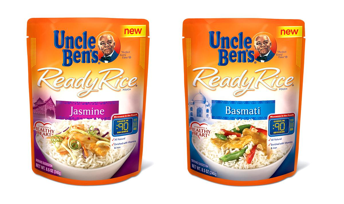 Uncle Ben's introduces new rice products