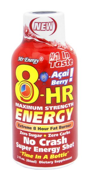 Bhelliom introduces berry blend Mr Energy 8-HR Energy Shot