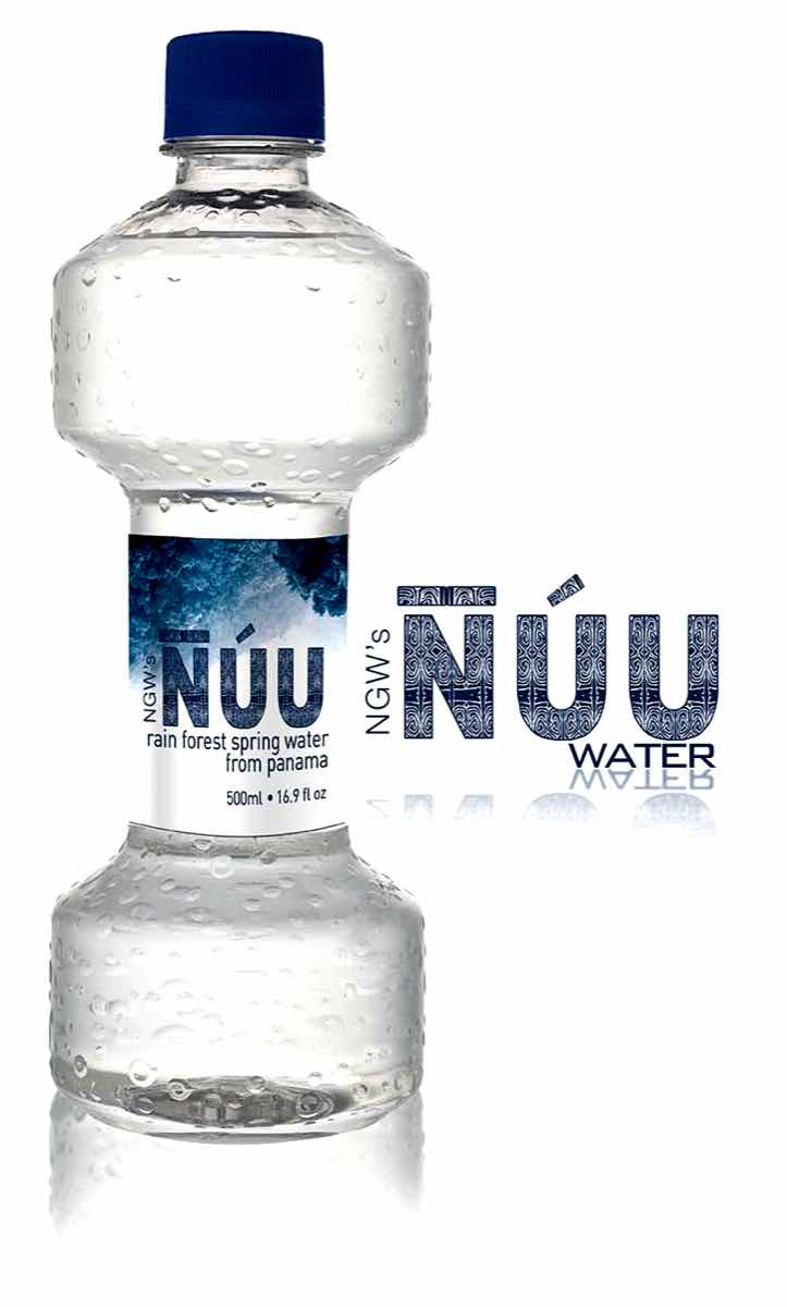 Nuu water from Panamanian rainforest launched in US