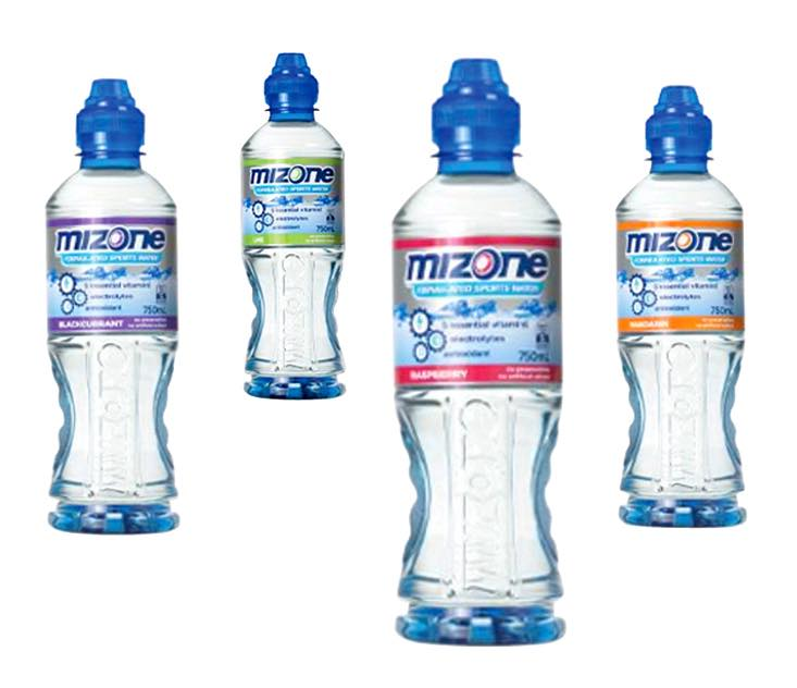 Mizone sports water relaunched by Frucor in Australia