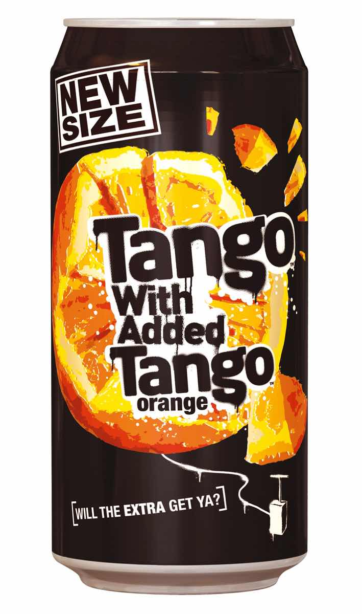 Britvic launches new Tango pack format