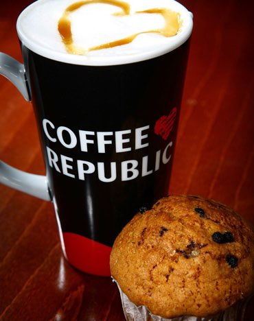 Coffee Republic placed in administration in UK