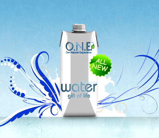 O.N.E. Water is launched in Tetra Pak carton