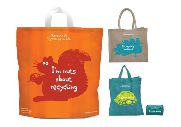 Sainsbury's to launch new carrier bag
