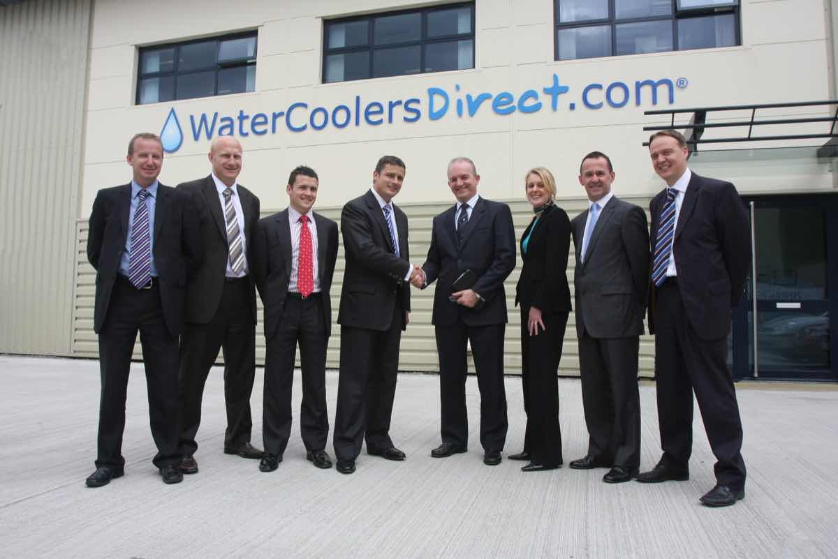 CEO from Barclays Commercial visits Water Coolers Direct