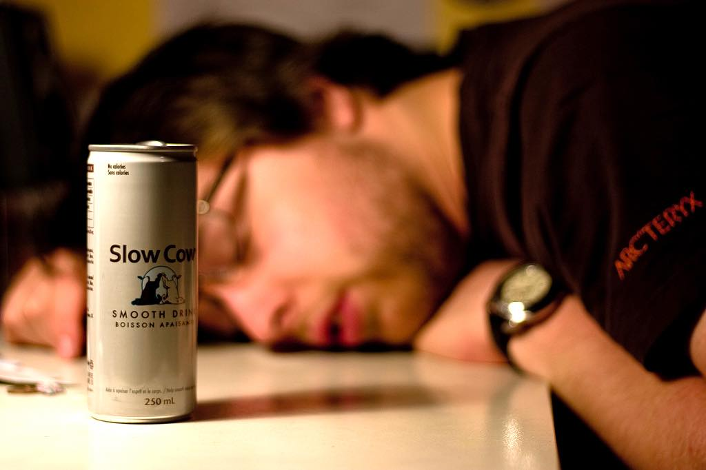 Slow Cow – the 'anti-energy drink'