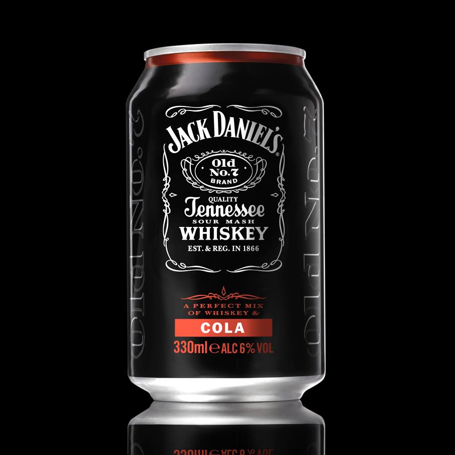 Pre-mixed Jack Daniel's & Cola is launched in cans