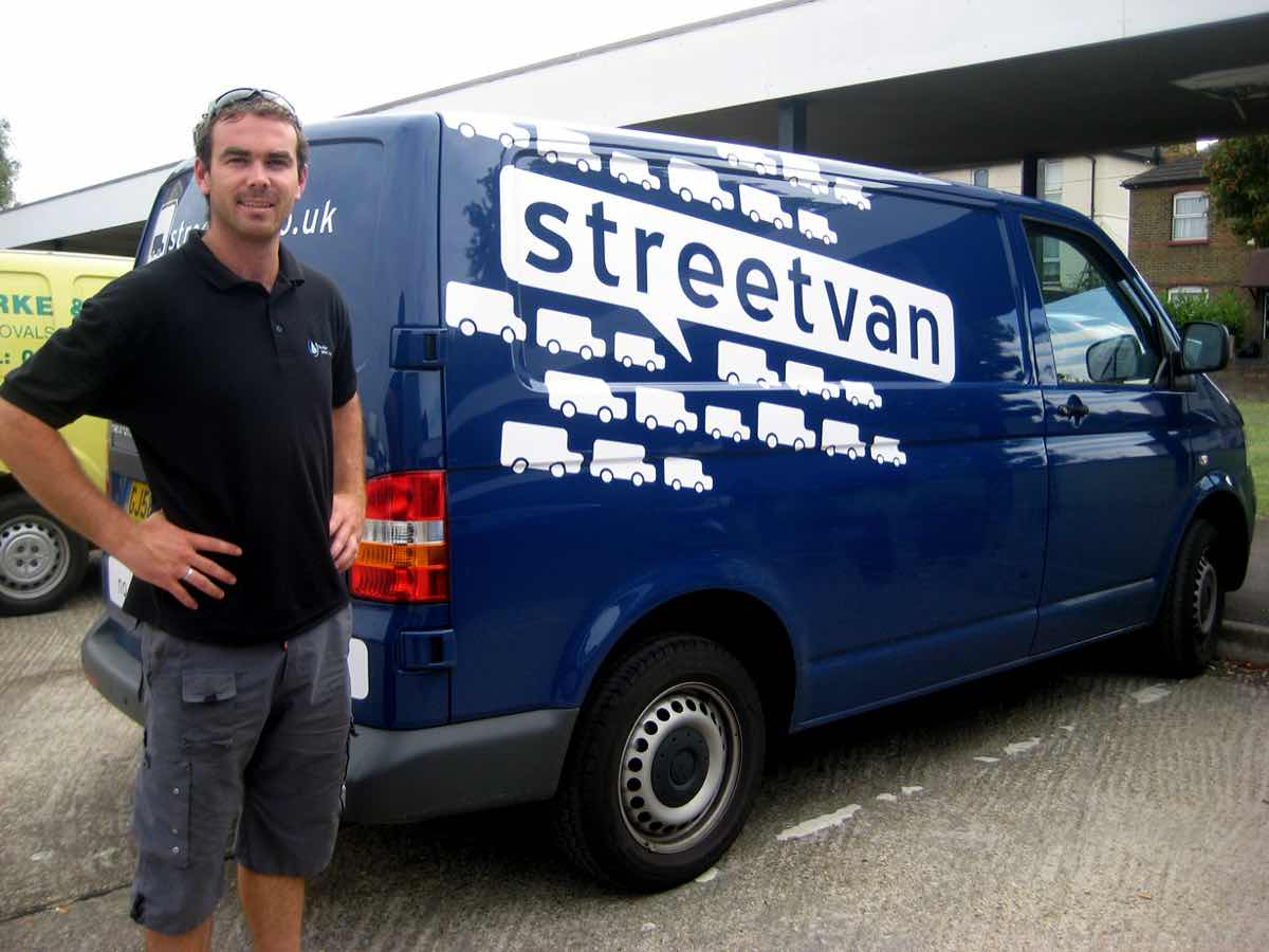 Water Delivery Company teams up with Streetvan