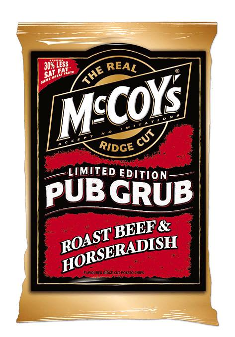 New Pub Grub flavours from McCoy's