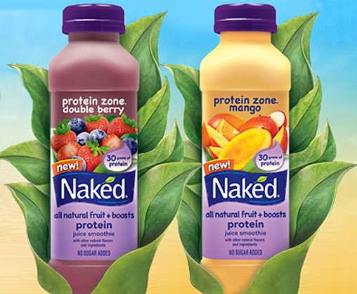 Naked Juice adds two new Protein Zone flavours