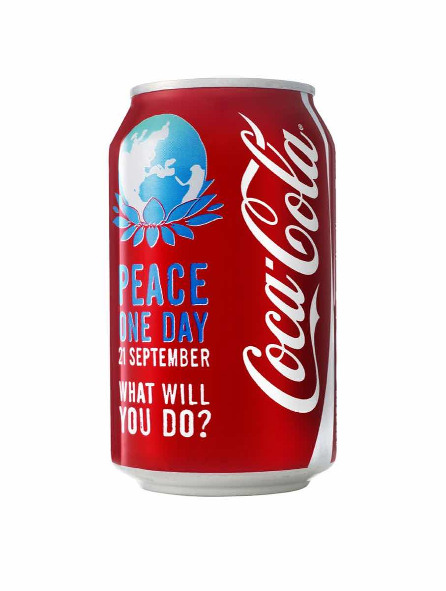 Coca-Cola pledges support for Peace One Day