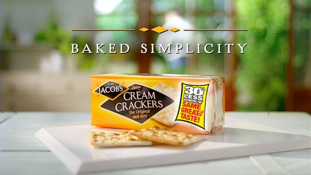 Jacob's teams up with Alan Titchmarsh for Cream Crackers