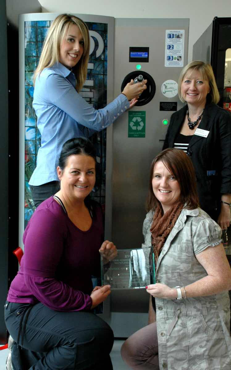 Reverse Vending pays out for students