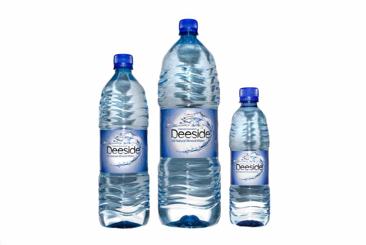 Makeover for Deeside mineral water