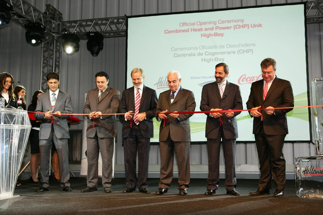 CCH and ContourGlobal open energy saving plant in Romania