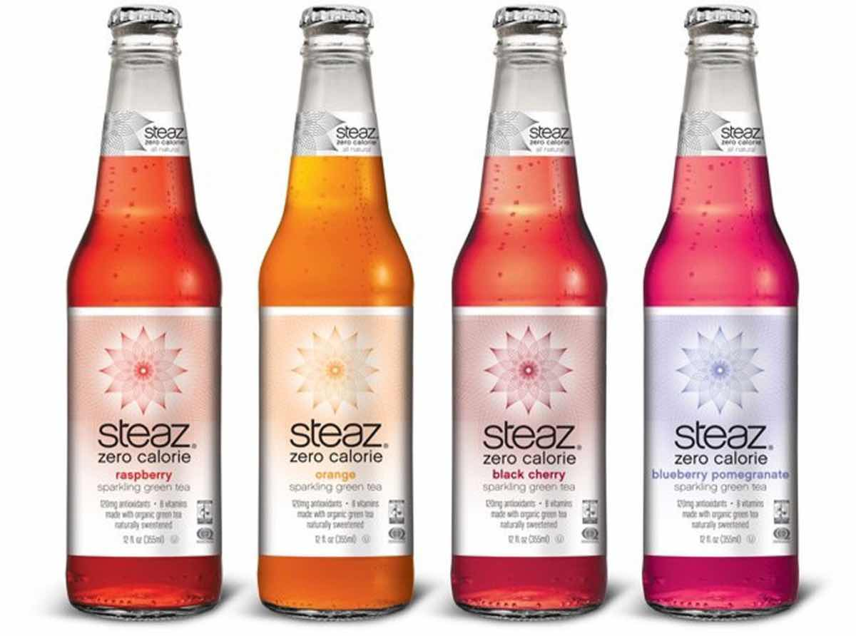 Steaz launches Steaz Zero Calorie Sparkling Green Tea