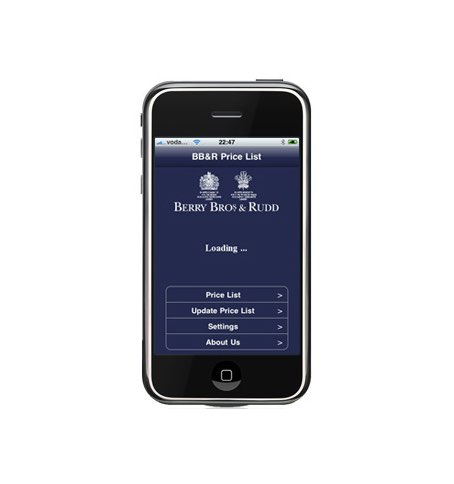 Wine merchant launches iPhone app