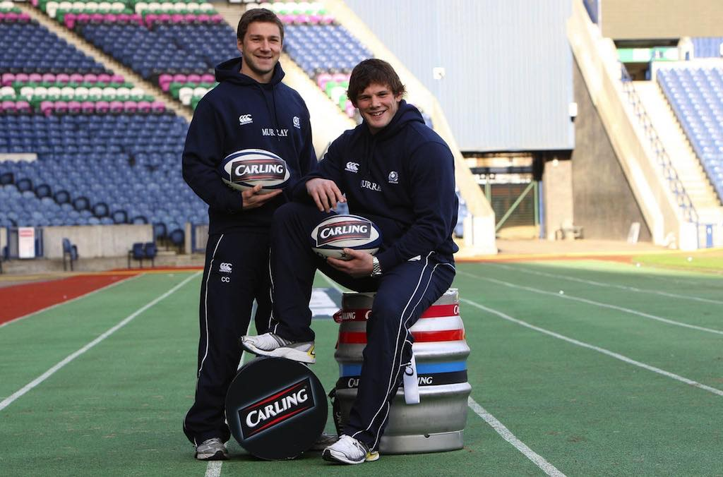 Carling announced as official beer of Scottish rugby