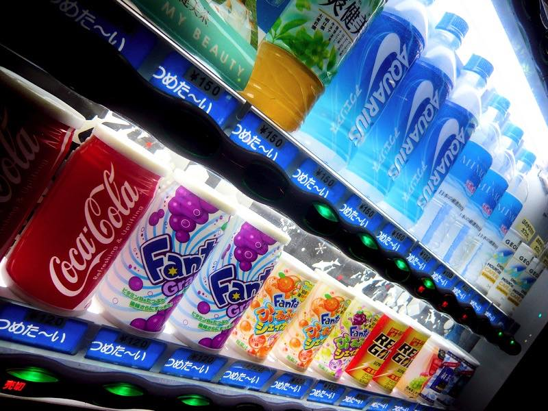 Are you 'in' the vending business?