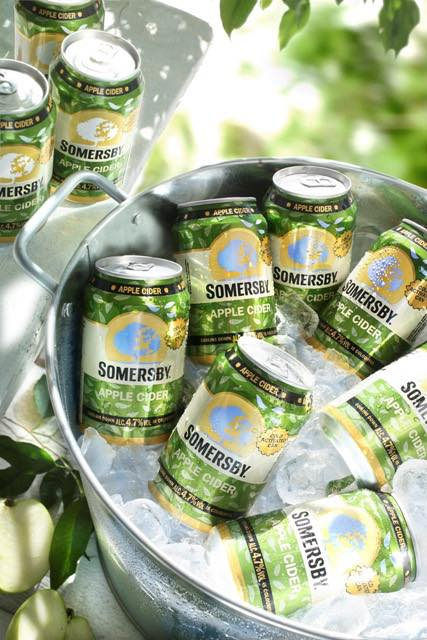 Carlsberg chooses thermochromic ink for cider cans