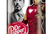 Dr Pepper Iron Man 2 cans